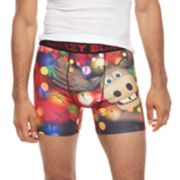 Men's Crazy Boxer Novelty Holiday Briefs
