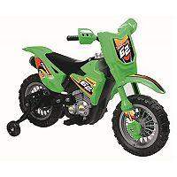 Blazin Wheels Green 6V Ride-On Dirt Bike