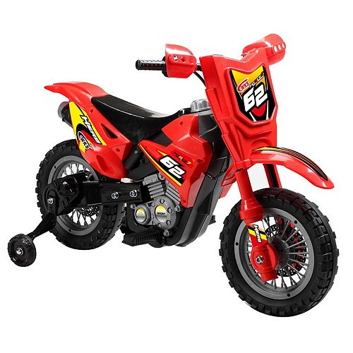 Blazin Wheels Red 6V Ride-On Dirt Bike