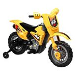 Blazin Wheels Yellow 6V Ride-On Dirt Bike