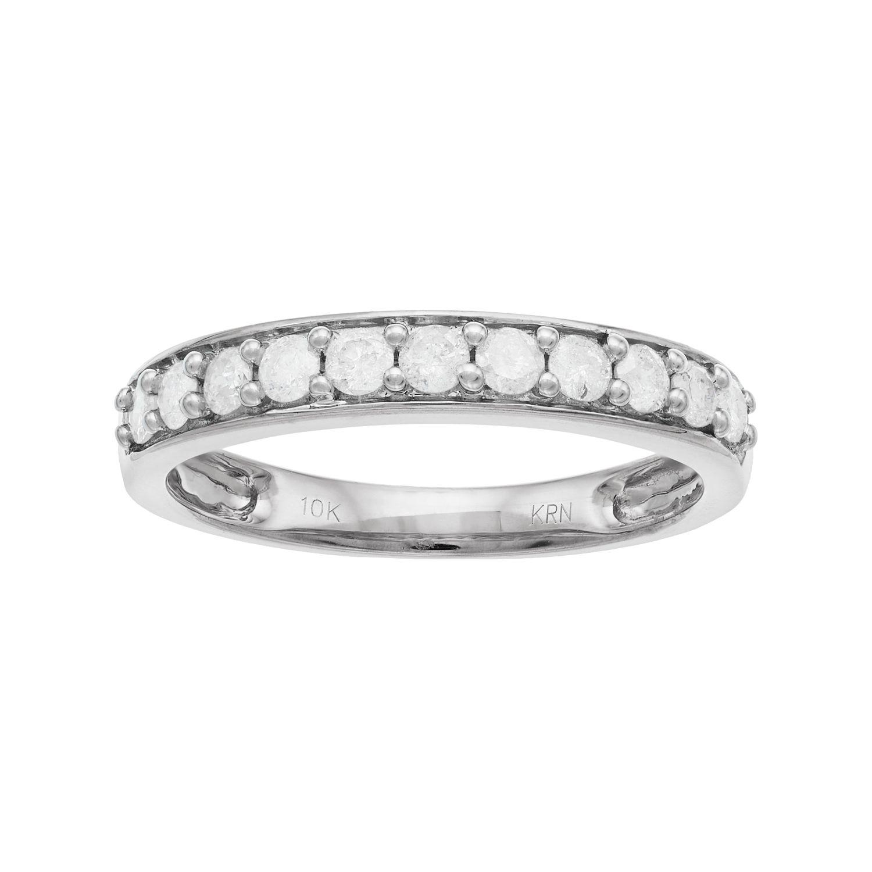 10k Gold 1/2 Carat T.W. Diamond Anniversary Ring