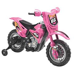 Blazin Wheels Pink 6V Ride-On Dirt Bike