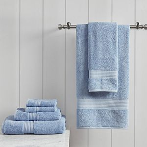 Madison Park Organic Cotton 6-piece Bath Towel Set