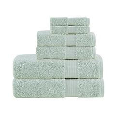 Madison Park 6-piece Organic Cotton Towel Set