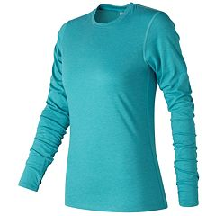 Women's New Balance Heather Tech Long sleeves