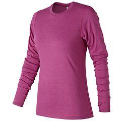 Women's New Balance Heather Tech Long sleeves