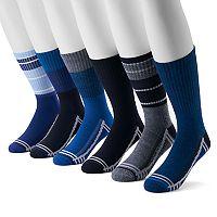 6-Pack Levi's Men's Athletic Crew Socks (Multiple Color)