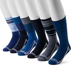 Men's Levi's® 6-pack Athletic Crew Socks
