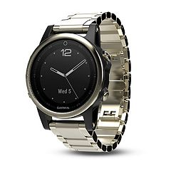 Garmin fēnix 5S Sapphire Premium Multisport GPS Smartwatch with Metal Band