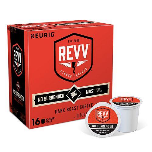 Keurig® K-Cup® Pod Revv No Surrender Dark Roast Coffee - 16-pk.