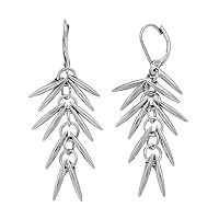 Simply Vera Vera Wang Shaky Stick Nickel Free Linear Earrings