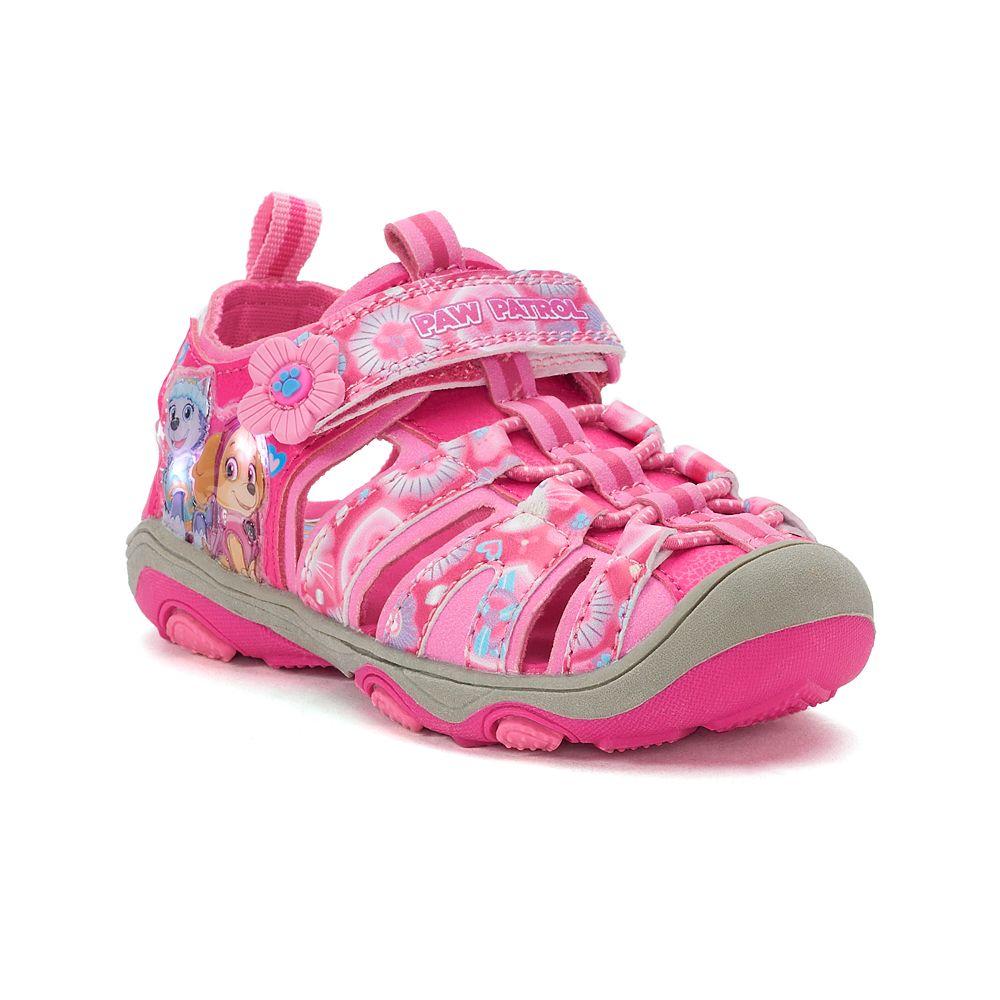 f5b4a4433ed Paw Patrol Skye   Everest Toddler Girls  Light Up Sandals