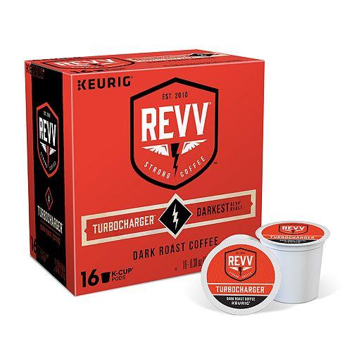 Keurig® K-Cup® Pod Revv Turbocharger Dark Roast Coffee - 16-pk.