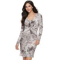 Women's Jennifer Lopez Twist Sheath Dress