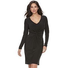 Women's Jennifer Lopez Twist Sheath Dress