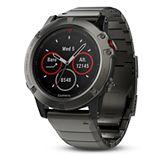 Garmin f?nix 5X Sapphire Premium Multisport GPS Smartwatch with Metal Band