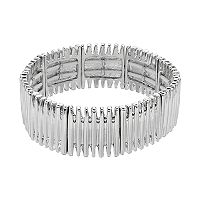 Simply Vera Vera Wang Bar Stretch Bracelet