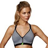Maidenform Sport Bras: Secure Zip Front Underwire Medium-Impact Sports Bra DM7991