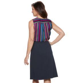 Women's Dana Buchman Crepe Pull-On Skirt