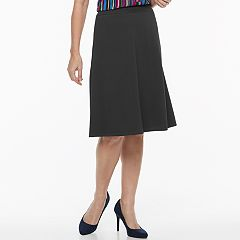 Women's Dana Buchman Travel Anywhere Crepe Pull-On Skirt