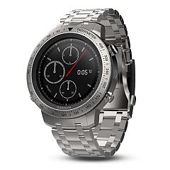 Garmin fēnix Chronos Premium Multisport GPS Smartwatch with Brushed Stainless Steel Band