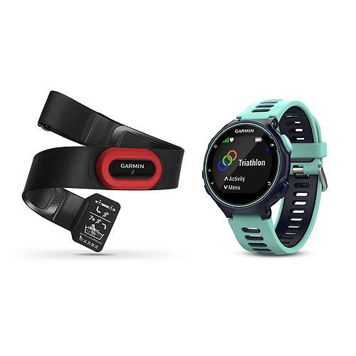 Garmin Forerunner 735XT GPS Running Watch Run Bundle