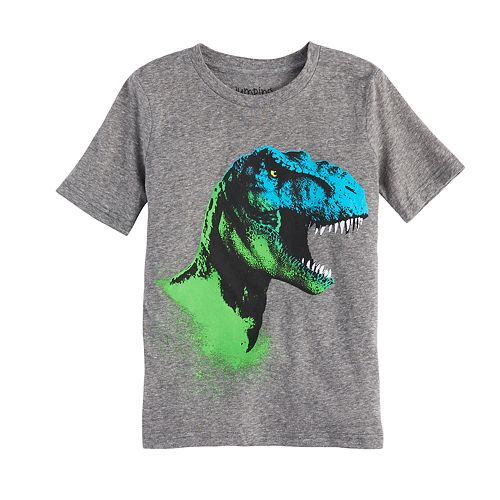 Boys 4-10 Jumping Beans® Dinosaur T-Rex Head Graphic Tee