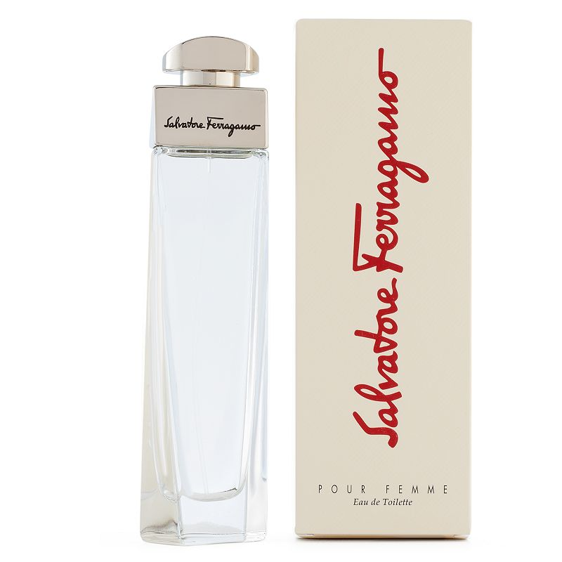 Salvatore Ferragamo Pour Femme Women's Perfume - Eau de Toilette, Size: 1.7 Oz Salvatore Ferragamo pour Femme is a sophisticated composition of spicy and floral notes that is casual enough to wear every day. FRAGRANCE NOTES Star anise, neroli, apricot, iris, cassis absolute, green leaves FRAGRANCE DETAILS 1.7 fl. oz. Eau de toilette Size: 1.7 Oz. Color: Multicolor. Gender: female. Age Group: adult.