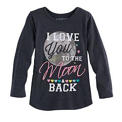 Toddler Girl Jumping Beans® 'Love You To The Moon & Back' Graphic Tee