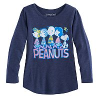 Toddler Girl Jumping Beans® Peanuts Gang Charlie Brown & Snoopy Graphic Tee