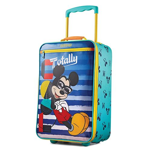 Disney Mickey Mouse 18-Inch Wheeled Luggage