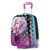 Disney Minnie Mouse 18-Inch Hardside Wheeled Luggage by American Tourister