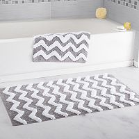 Portsmouth Home 2-piece Chevron Bath Mat Set