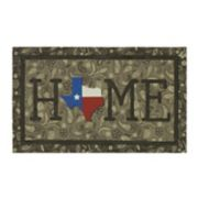 "Mohawk® Home Texas Bandana ""Home"" Rubber Doormat - 18"" x 30"""