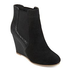 Journee Collection Linae Women's Wedge Ankle Boots