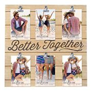 New View 6-Opening 'Better Together' Collage Frame