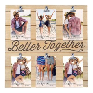 """New View 6-Opening """"Better Together"""" Collage Frame"""