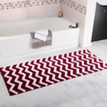 Portsmouth Home Chevron Long Bath Mat