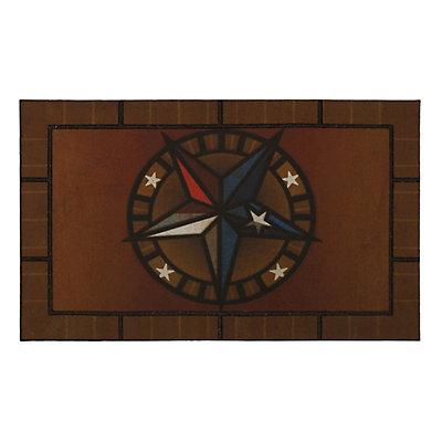 "Mohawk® Home Texas Star Rubber Doormat - 18"" x 30"""
