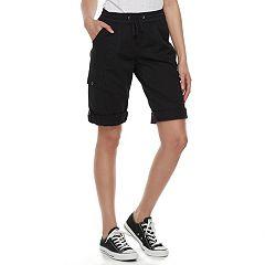 Juniors' Unionbay Greyson Convertible Skimmer Shorts