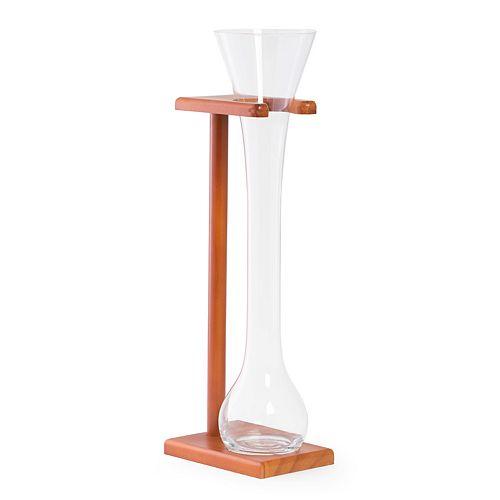 Bey-Berk Half-Yard Glass With Stand