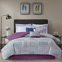 Madison Park Alexandra Cotton Percale Comforter Set