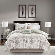 Madison Park Sharon Cotton Sateen Comforter Set