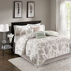 Madison Park Sharon Sateen Duvet Cover Set