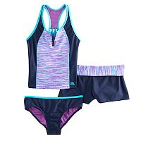 Girls 7-16 & Plus Size ZeroXposur 3-PC. Tankini Set