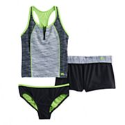 Girls 7-16 & Plus Size ZeroXposur 3 pc Tankini Set