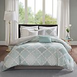 Madison Park Karyna Sateen Duvet Cover Set