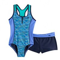 Girls 7-16 & Plus Size ZeroXposur One-Piece With Shorts