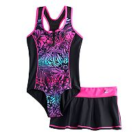 Girls 7-16 & Plus Size ZeroXposur One-Piece With Skirt