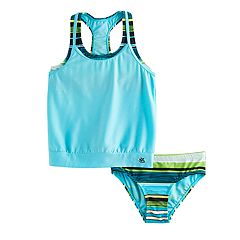 Girls 7-16 & Plus Size ZeroXposur 2 pc Blouson Bikini Set